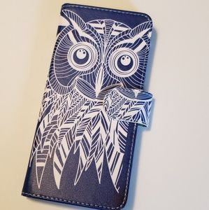 ♡ NEW ♡ Note 8 Owl Wallet Style Phone Case